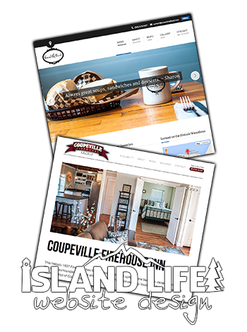 Whidbey Island Life Website Design